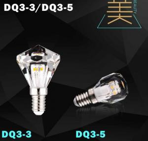 China diamond led bulb lamp crystal light candle bulb led on sale