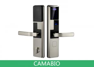 China CAMA-C010 Luxury Biometric Electronic Keypad Door Lock For Home Entrance Access Control on sale
