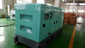 China Silent Type Diesel Standby Generator 60Hz Output 160KVA With Low Oil - Pressure Protection on sale