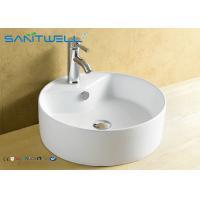 Basin Above Counter Mounting Ceramic Vanity Hand Wash Basin 410*410*145mm