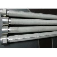 High Filtering Accuracy Wire Mesh Filter Element For Water Treatment , SGS Listed