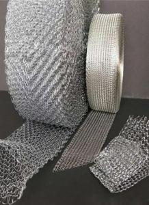 China Gas liquid filter wire mesh/knitted wire mesh tube/wire mesh demister on sale
