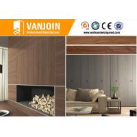 Interior Wall Decorative Stone Tiles 3D Lifelike Soft Wood Grain Tiles Full Body