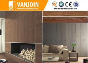 China Interior Wall Decorative Stone Tiles 3D Lifelike Soft Wood Grain Tiles Full Body on sale