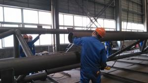 China Pre-engineering Components Structural Steel Fabrications For Industrial Steel Building on sale