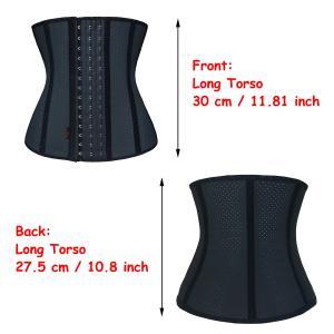 0a73bb4cb9c ... Quality Underbust Latex Sport Girdle Womens Waist Cincher Black  Hourglass Body Shaper for sale ...