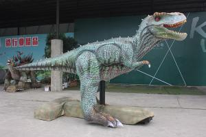China Sun Proof Realistic Dinosaur Model For Outdoor Stage Show / Amusement Park on sale
