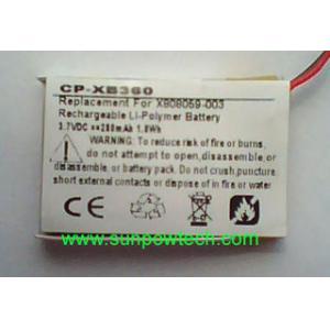 Quality マイクロソフトXbox 360の無線ヘッドホーン電池X808059-003 for sale
