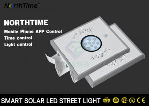 China Bridgelux 45mil Solar Garden Street Lights  / Solar Powered LED Parking Lot Lights on sale