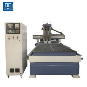 China Taiwan syntec control system Double work table CNC Woodworking router machine on sale