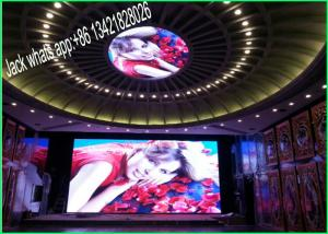 China Super Thin P3.91mm Indoor Rental LED Displays In Die Cast Aluminum ISO092001 on sale