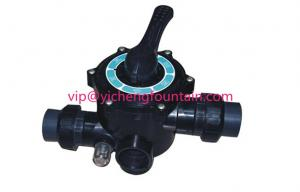 China 6 Position 1.5 Inch / 2.0 Inch Sand Filter Multiport Valve Swimming Pool Filter Valves on sale