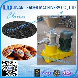 China 200kg/H -400kg/H Peanut Processing Machine Granular Food Sesame Paste on sale