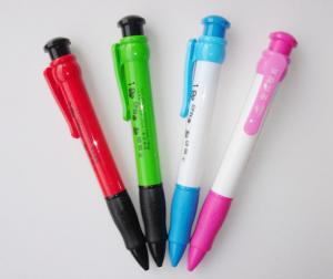 Quality Classic Plastic Ballpoint Pens Promotional Click Pen for sale