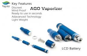 China Blue Dry Herb Vaporizer Pen AGO E Cigarette 600mAh 900mAh 1100mAh on sale
