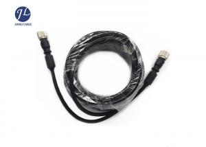 China Pure Copper Shielding S Video Male To Female Cable For Car Side View Camera System on sale