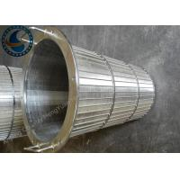 Self Cleaning Rotary Screen Drum With ISO / SGS / CE / CIQ Certificate