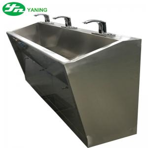 ... Quality 3 Person Multi Station Hand Wash Sinks , Industrial Stainless  Steel Sink For Sale