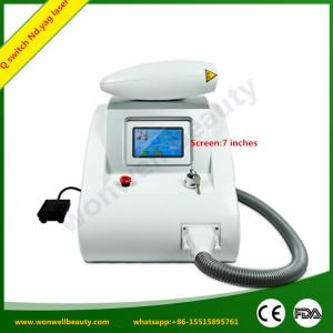 China Q switched nd yag laser on sale
