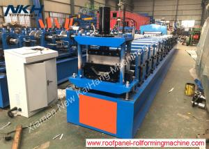 China Roller Shutter Door Frame Roll Forming Machine / Steel Profile Making Machine on sale