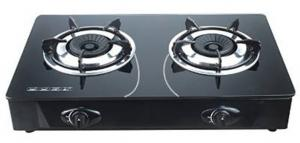 China Household 7mm Tempered Glass Table Top Gas Stove Cooker FJ-G201 on sale