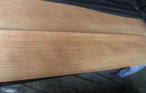 China 0.45 mm Sapelli Quarter Cut Veneer With Vivid Straight Line Grain supplier