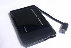 """Quality data line conjoined thin USB3.0 to 2.5""""SATA, mobile HDD enclosure MH-HE-288U3 for sale"""