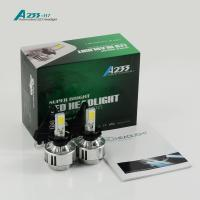 China 3000 LM 33W Car LED Headlight Bulb H8 H9 H11 Aluminum 12 Voltage on sale