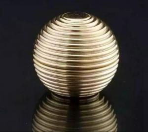 Quality 15gram 30gram 50gram le plus tard, nouveau pot cosemtic de sphère, pot d'or for sale