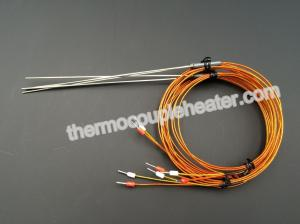 China Mineral insulated thermocouples Resistance Temperature Detector  for hot runner system on sale