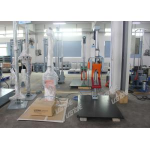 China Lab Drop Tester Machines For Package Drop Testing Satisfy GB , IEC , ASTM , ISTA And Other Standard supplier
