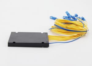 China Box Type Optical Fiber Splitter Lower Insertion Loss 1 x 8 Easily Installed on sale