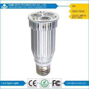 China E27 Bridgelux LED spot light 9W on sale