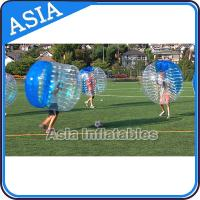 Funny And Crazy Human Bubble Ball With Best 1.0mm Tpu For Soccer Competition