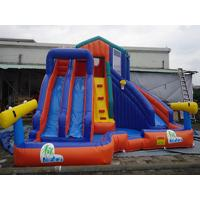 CE Certificate Inflatable Water Park With Slide PVC Tarpaulin For Kids Water Games