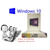 32bit / 64bit Windows 10 FPP Retail Box Korean International PC 3.0 USB Online Activation