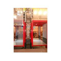 Single / Double Car 2700kg Industrial Elevators with Mast Hot-dip Galvanized