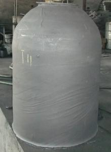 China graphite crucible for aluminum and aluminum alloy on sale