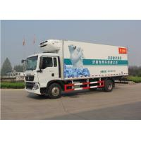 China 140HP Engine Commercial Refrigerated Trucks DC6J48TC Transmission 9.00R20 Tire on sale