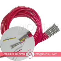 6*50mm stainless steel probe + shrinkage necking 1m Silicon cable DALLAS DS18B20 18B20 TO-92 IC Water-proof Temperature