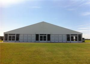 China 25m * 40m ClearSpan Structure ABS Wall Marquee Tent Portable Air Conditioner Canopy on sale