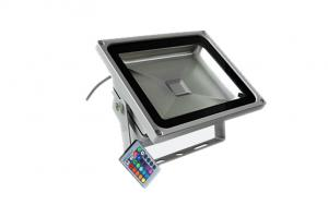 China 8500 Lumen Waterproof LED Flood Light High Voltage 100W RGB Epistar Chips on sale