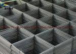 Black Simple Practical Welded Wire Mesh Panels Surface Without Any Processing