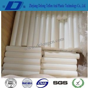 China 5mm-200mm 100% virgin white extruded Teflon bar on sale