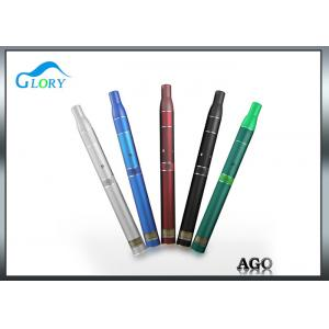 China Black E Cigarette Ago Portable Dry Herb Vaporizer With Lcd Batter vapormax ago g5 vaping pens supplier