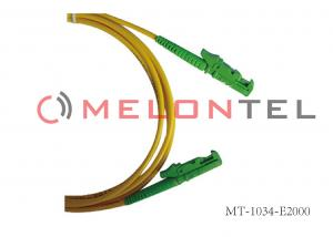 China E2000 To E2000 Single Mode Fiber Patch Cables For High Speed Enterprise Servers on sale