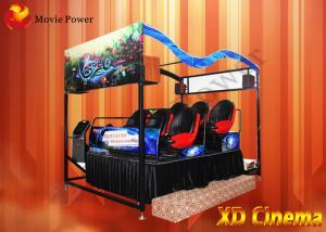 China 360º Visual Field XD Theatre With 6 DOF Platform / VR Helmet on sale