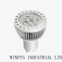 5W high power led spotlight gu10 with CE,RoHS SL-5X1W(F)