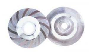 China Sharp Electroplated Diamond Coated Grinding Discs With Cutting Blades on sale