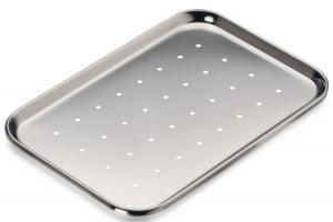 China Medical Flat Perforated Baking Tray With Holes For Home Restaurant Hotel on sale